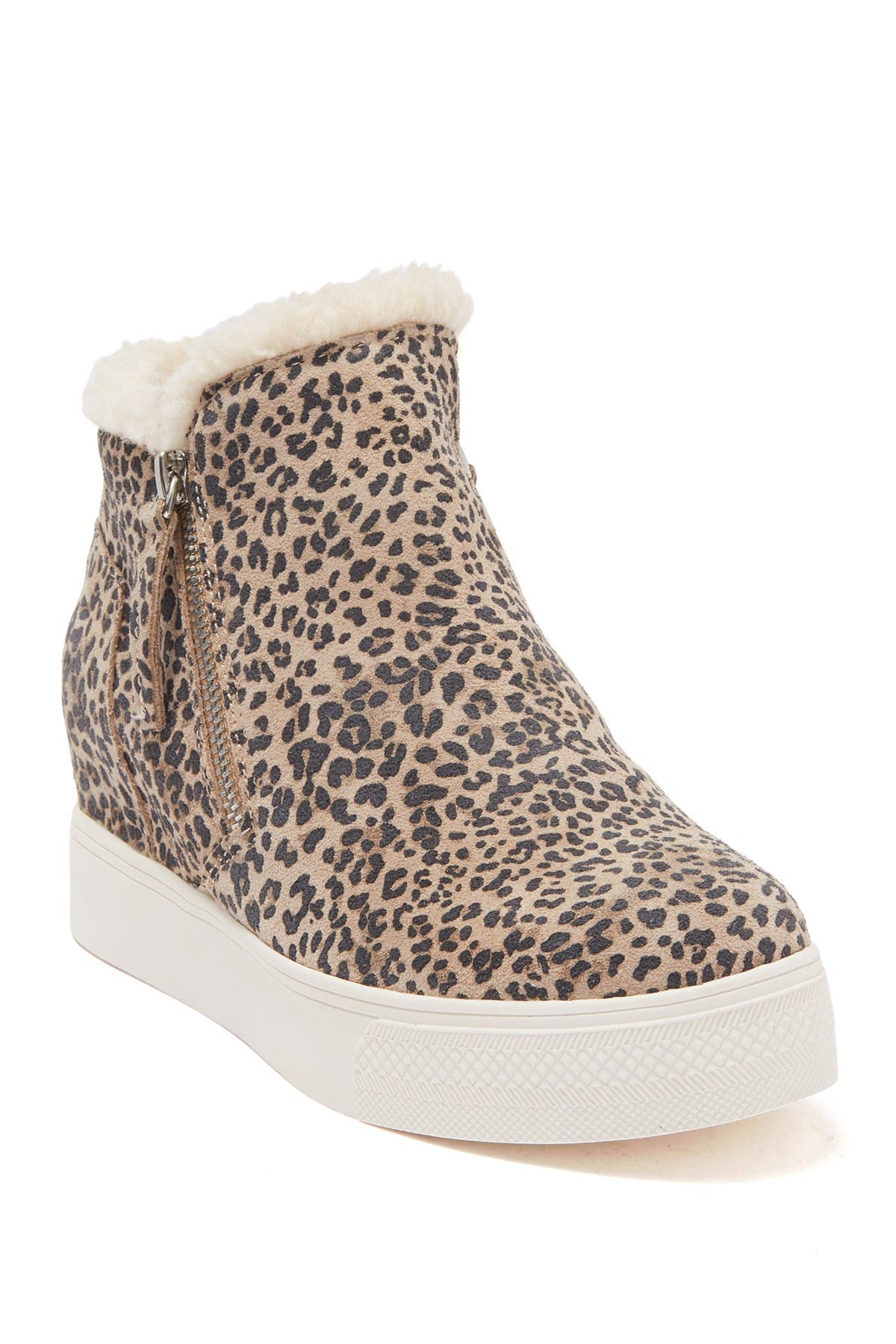 Image of Dolce Vita Wolfe Faux Shearling Wedge Sneaker