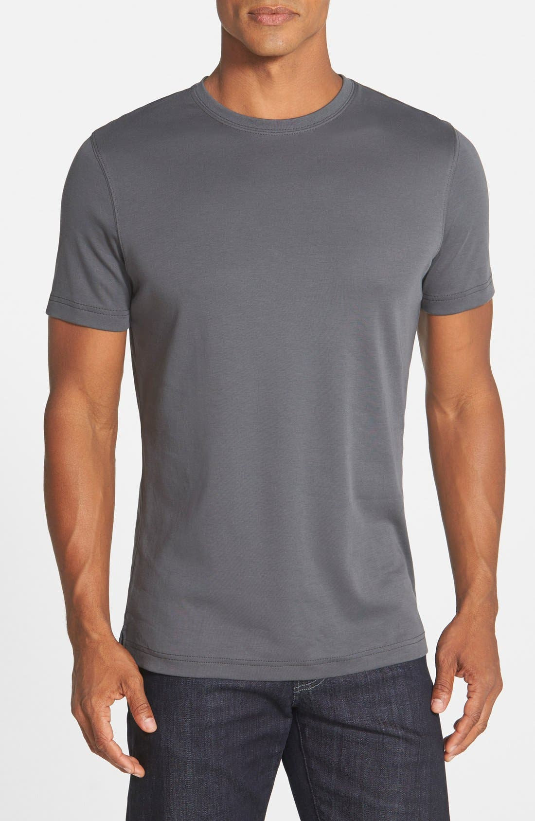 ,                             Georgia Crewneck T-Shirt,                             Main thumbnail 148, color,                             029