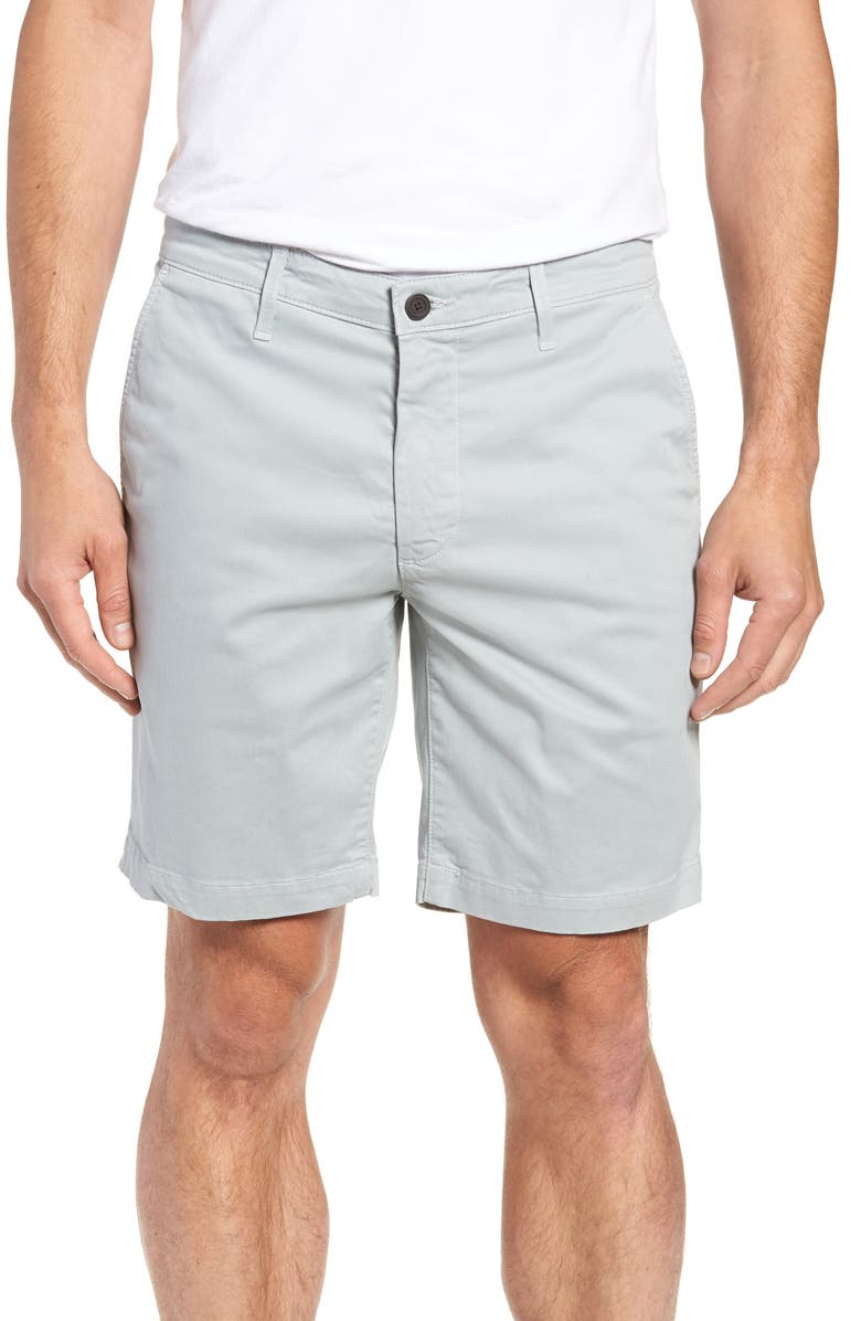AG Wanderer Modern Slim Fit Shorts, Main, color, MORNING MIST