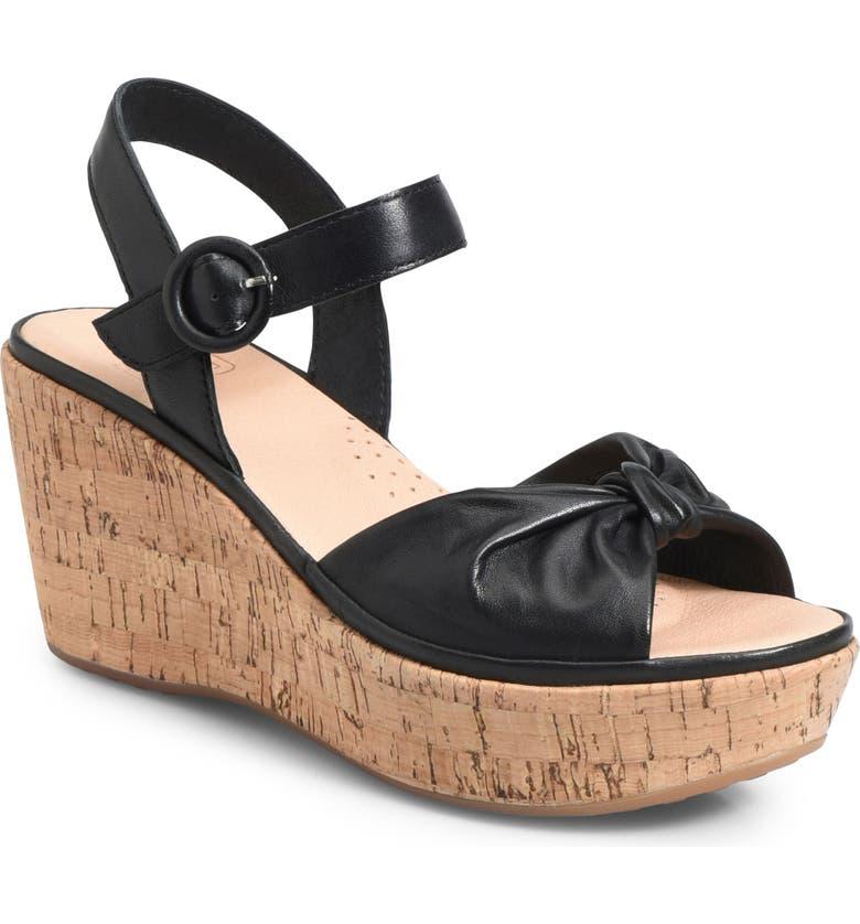 ONO Heavenly Platform Wedge Sandal, Main, color, 001