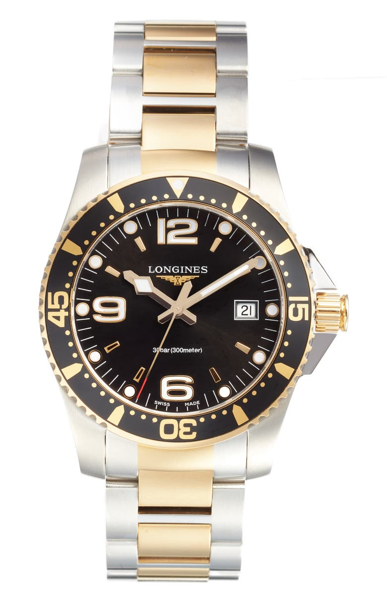 LONGINES HydroConquest Diving Watch, 41mm, Main, color, 040