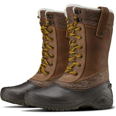 The North Face Shellista Iii Waterproof Insulated Winter Boot, Brown