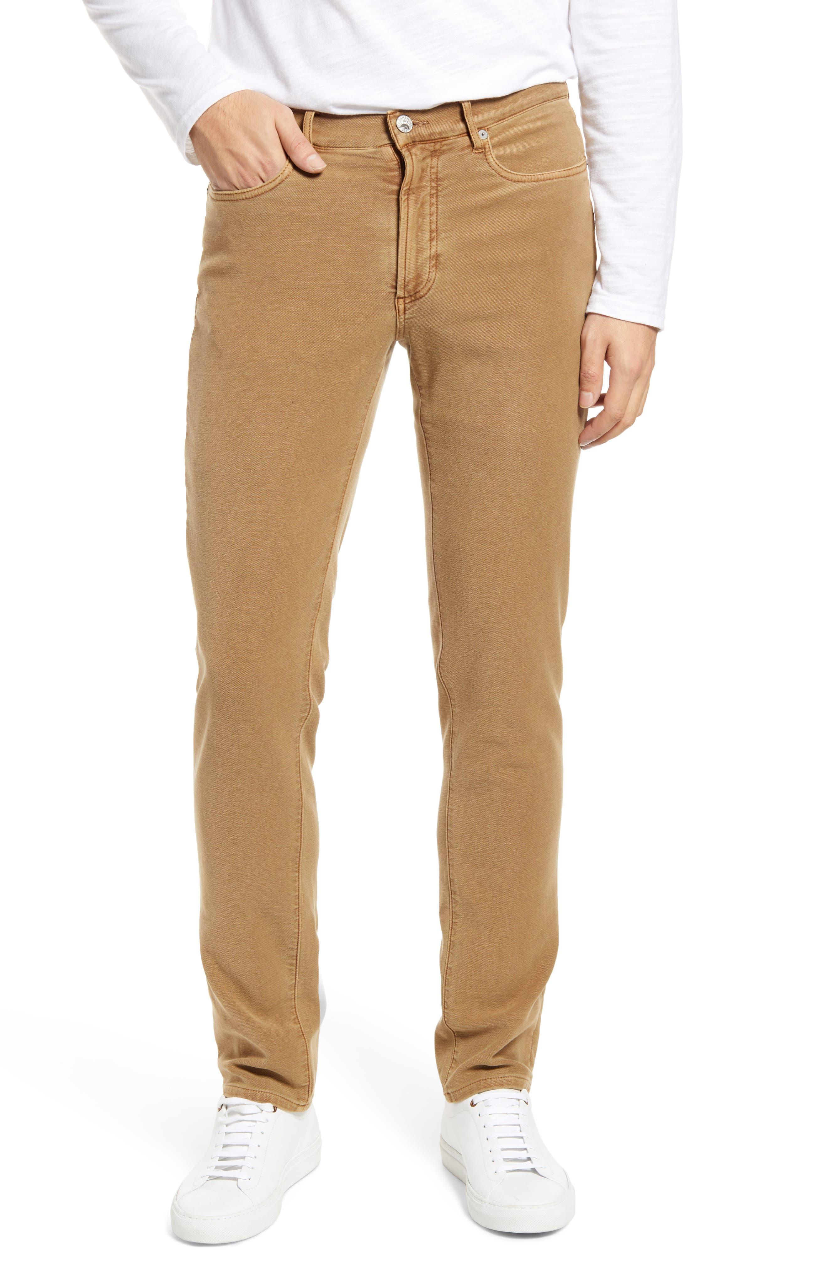 Stretch Terry 5-Pocket Pants