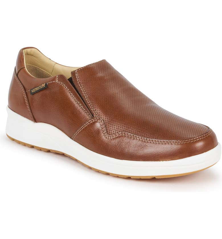 MEPHISTO Valter Slip-On, Main, color, HAZELNUT LEATHER