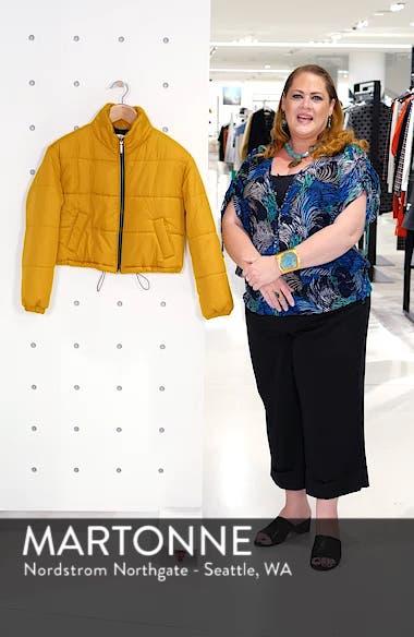 Crop Puffer Jacket, sales video thumbnail