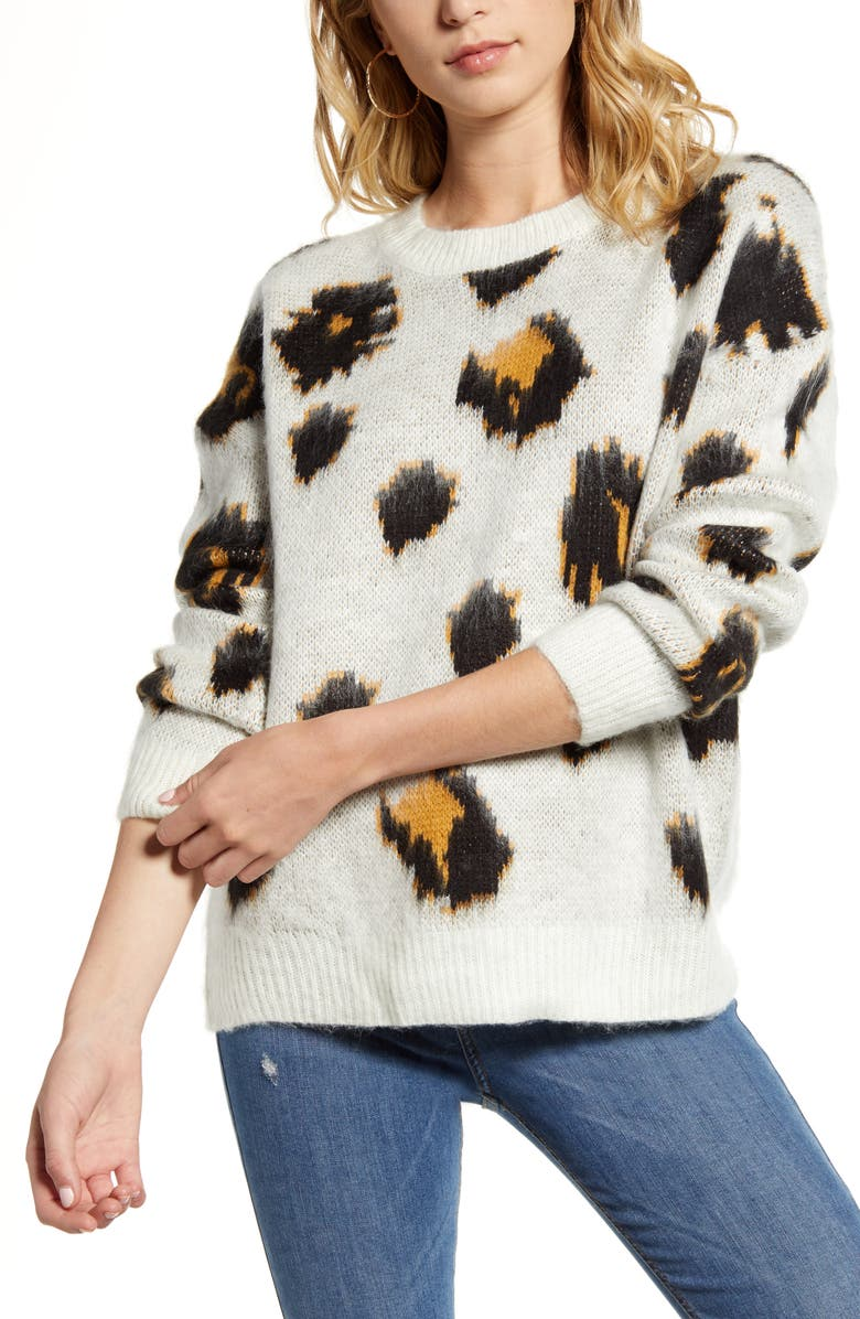 Leopard Pullover by Woven Heart