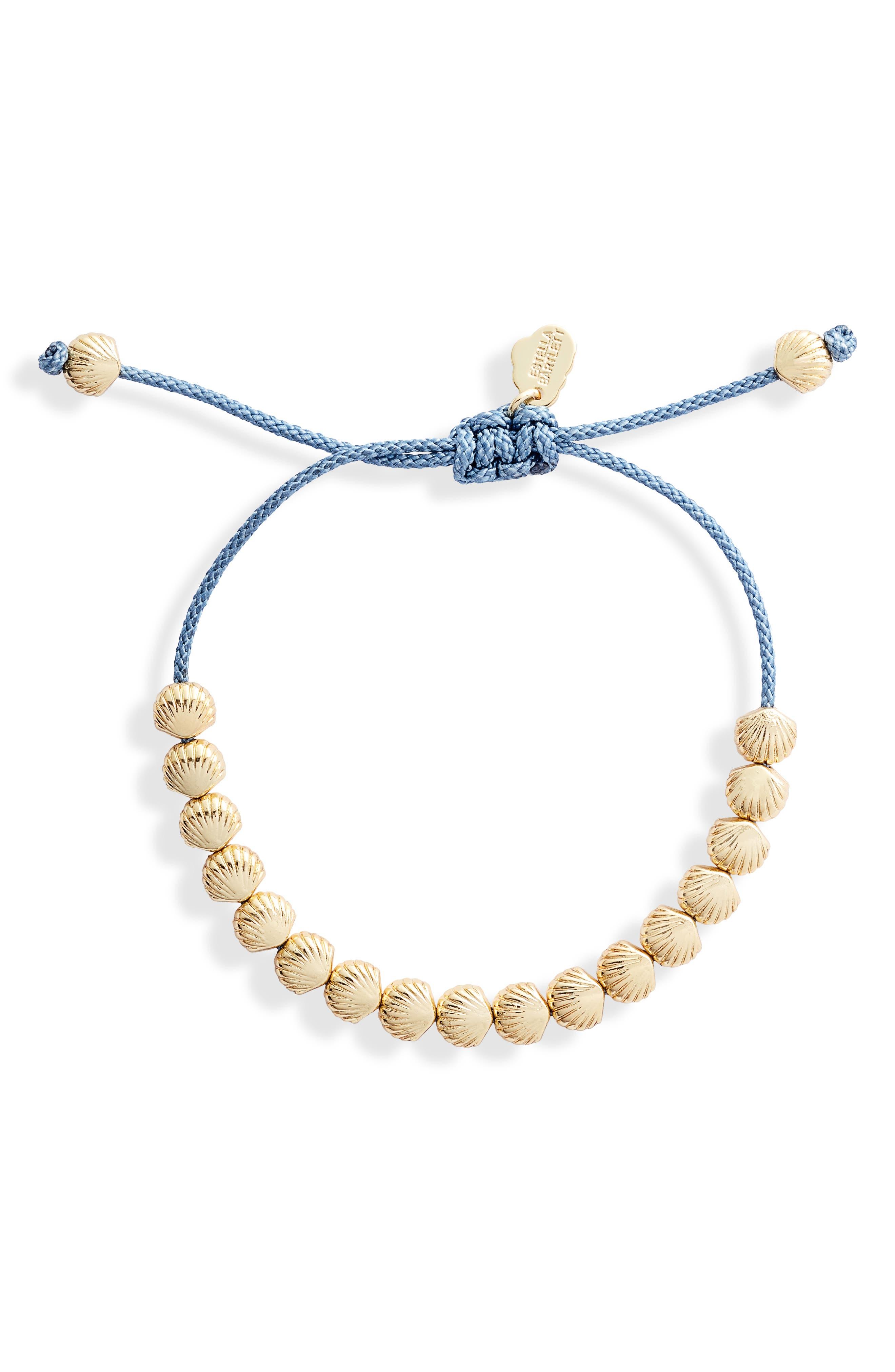 Seashore Beaded Friendship Bracelet
