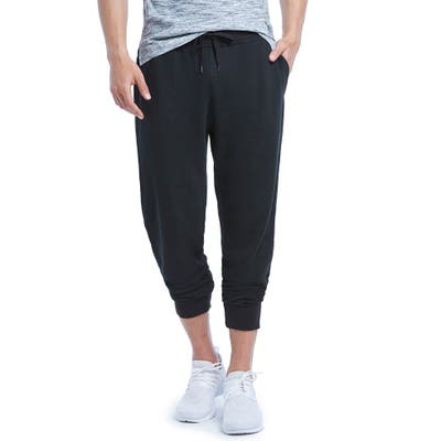 2(X)Ist Terry Jogger Sweatpants, Black