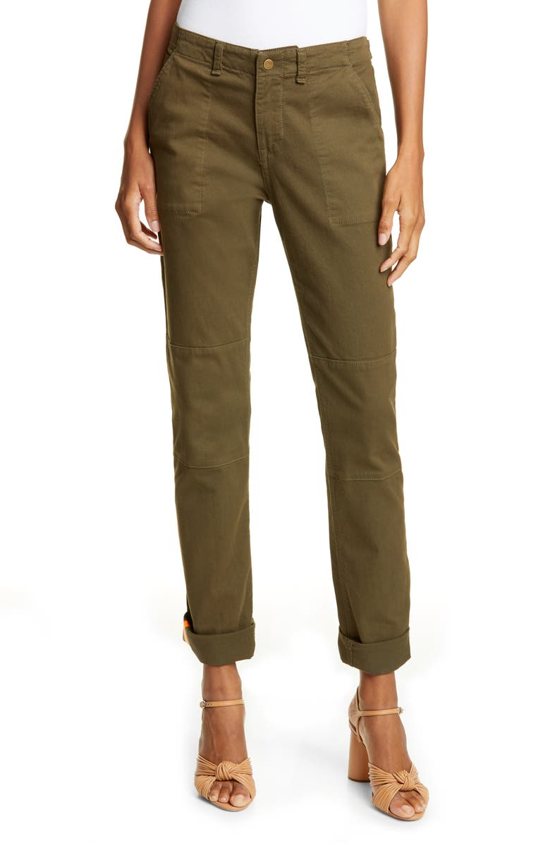 VERONICA BEARD Adrina Skinny Army Pants, Main, color, 310