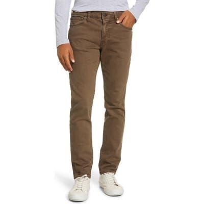 Madewell Garment Dyed Slim Jeans, Green