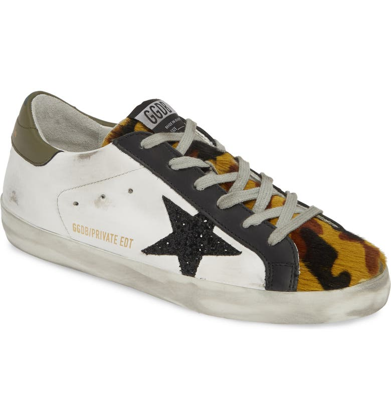 GOLDEN GOOSE Superstar Genuine Calf Hair Sneaker, Main, color, 106