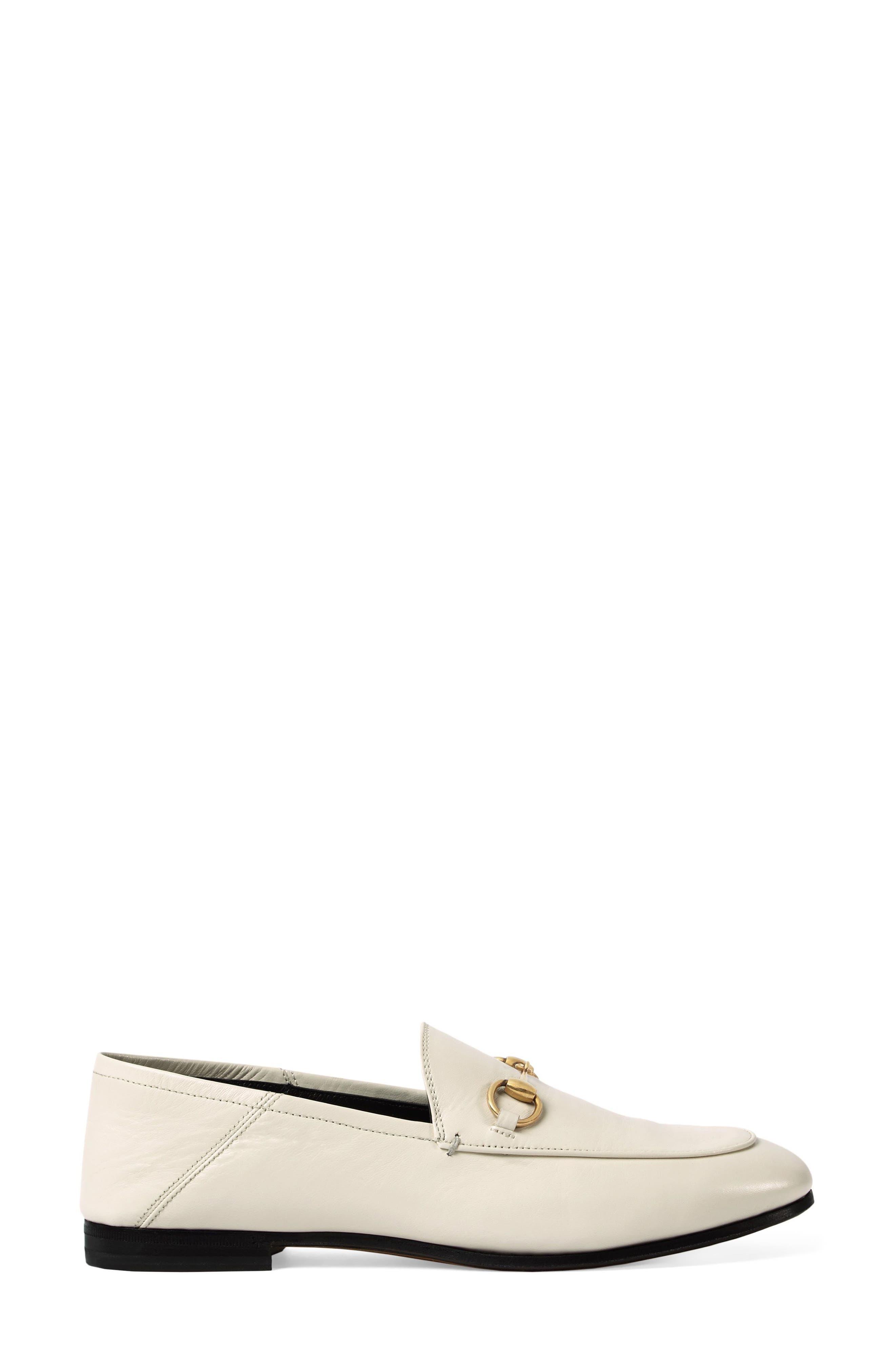 Gucci Brixton Convertible Loafer, White