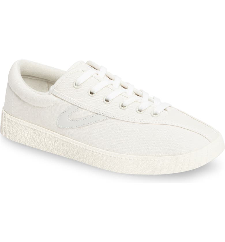 TRETORN Nylite Plus Sneaker, Main, color, WHITE/ WHITE/ WHITE CANVAS