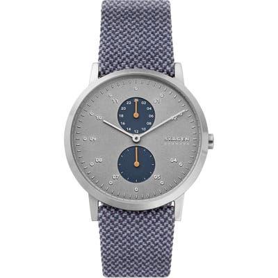 Skagen Kristoffer Woven Strap Watch, 42Mm