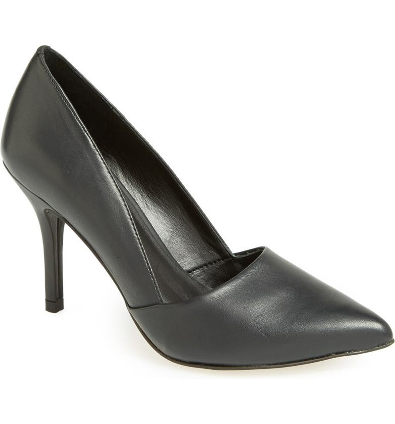 TROUVÉ 'Devin' Pointy Toe Pump, Main, color, 001