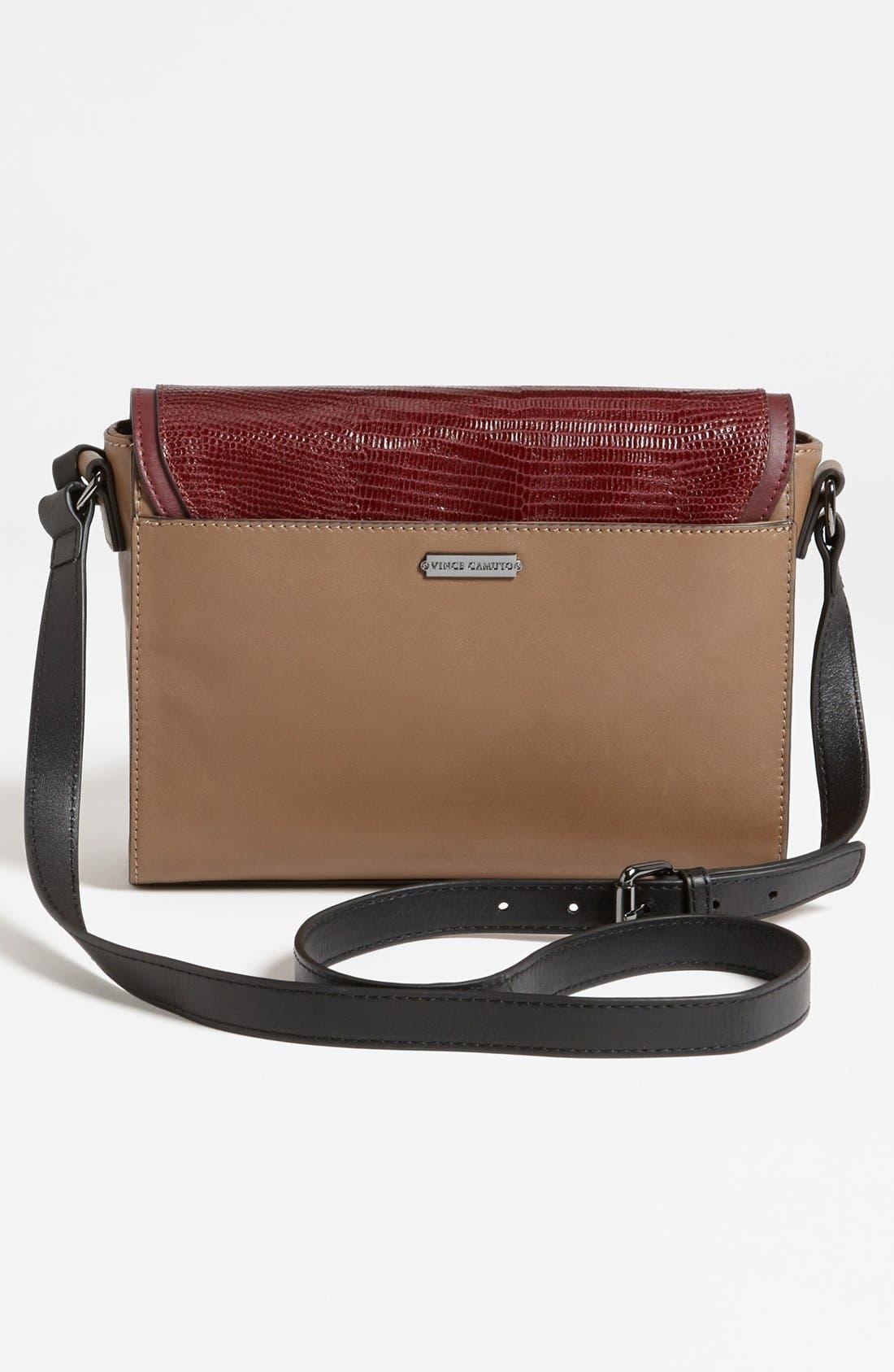,                             'Max' Leather Crossbody Bag,                             Alternate thumbnail 27, color,                             930