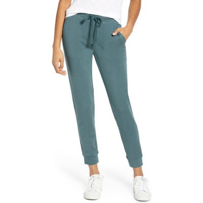 Lou & Grey Signaturesoft Plush Upstate Sweatpants, Blue/green