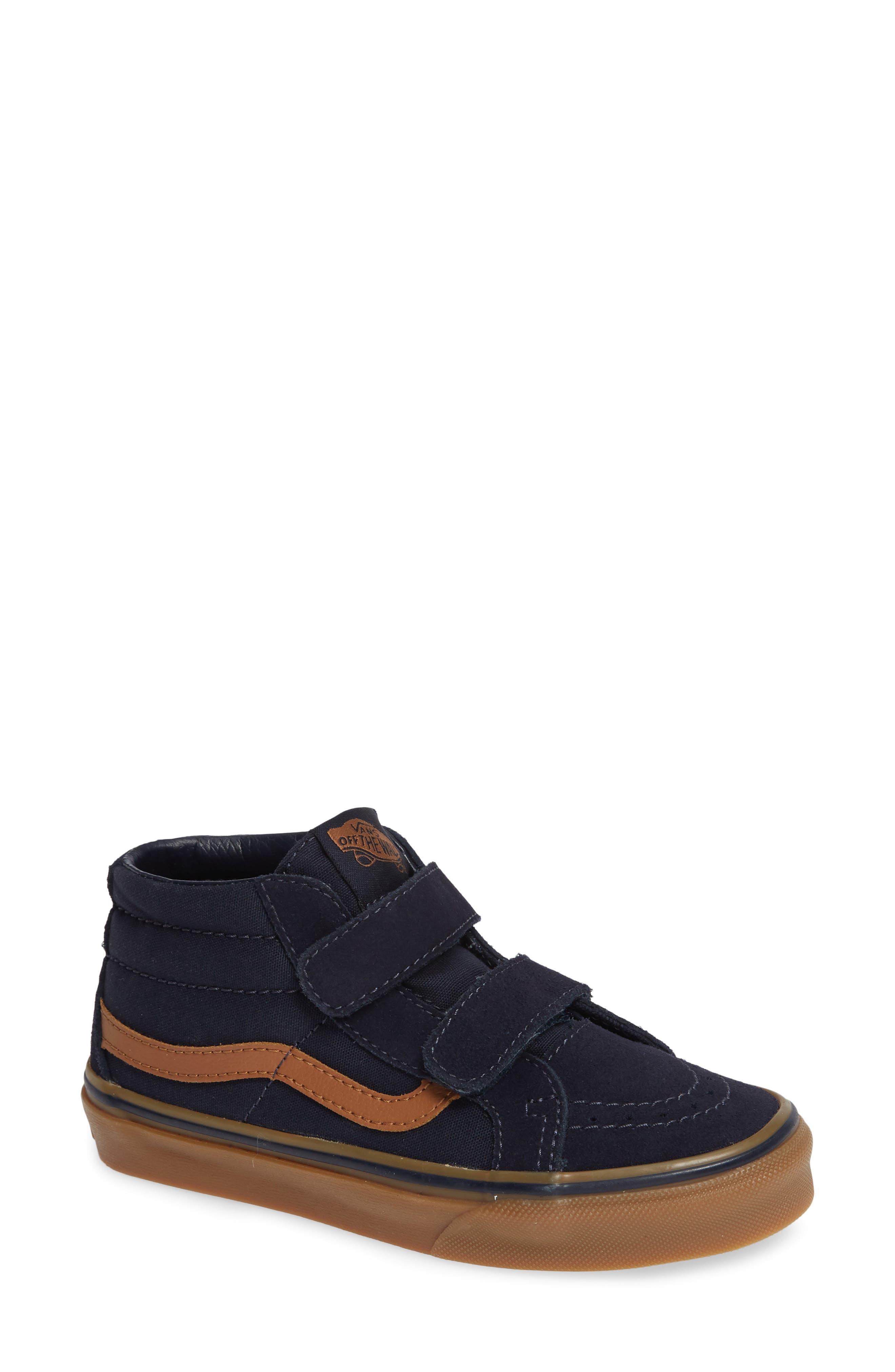 Toddler Boys Vans Sk8Mid Reissue V Sneaker Size 9 M  Blue