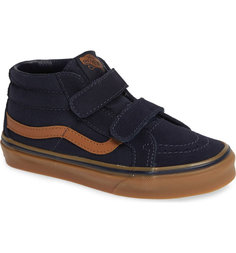 VANS Sk8-Mid Reissue V Sneaker, Main, color, SKY CAPTAIN/ GUM
