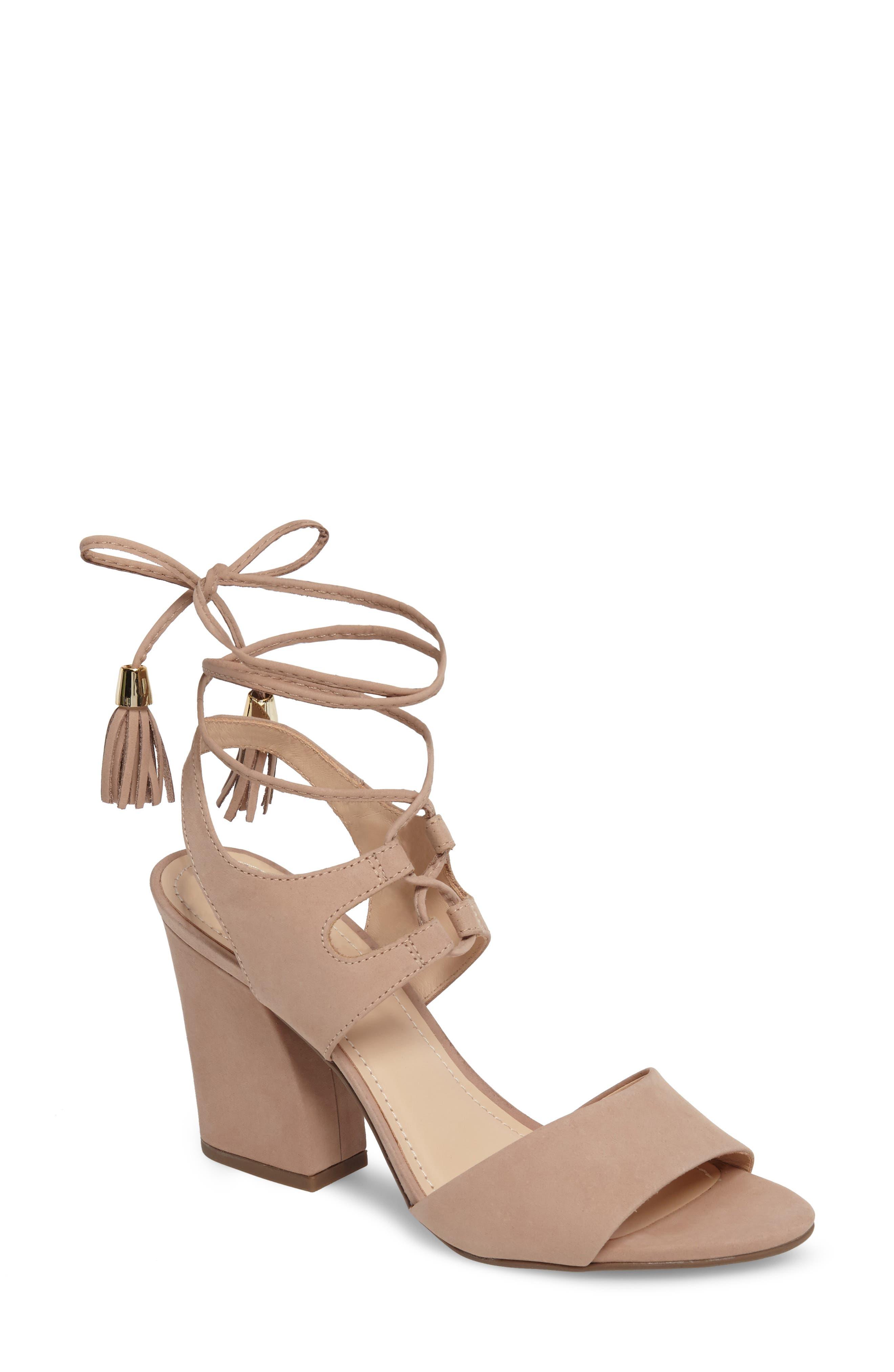 Klub Nico Kaira Ankle Wrap Sandal, Pink