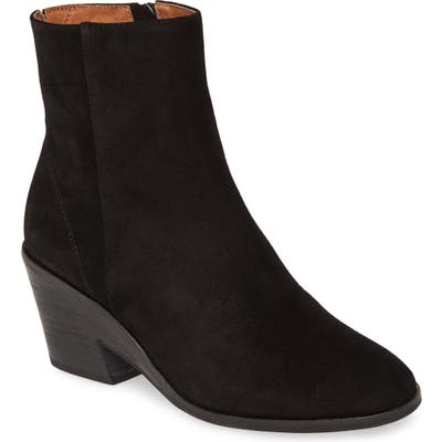 Gentle Souls By Kenneth Cole Blaise Wedge Bootie- Black