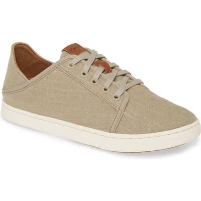 Olukai Pehuea Li Convertible Sneaker, Grey