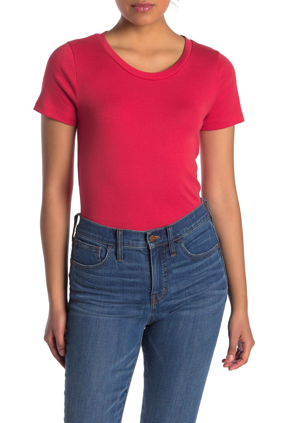 Image of J. Crew Perfect Fit Short Sleeve T-Shirt