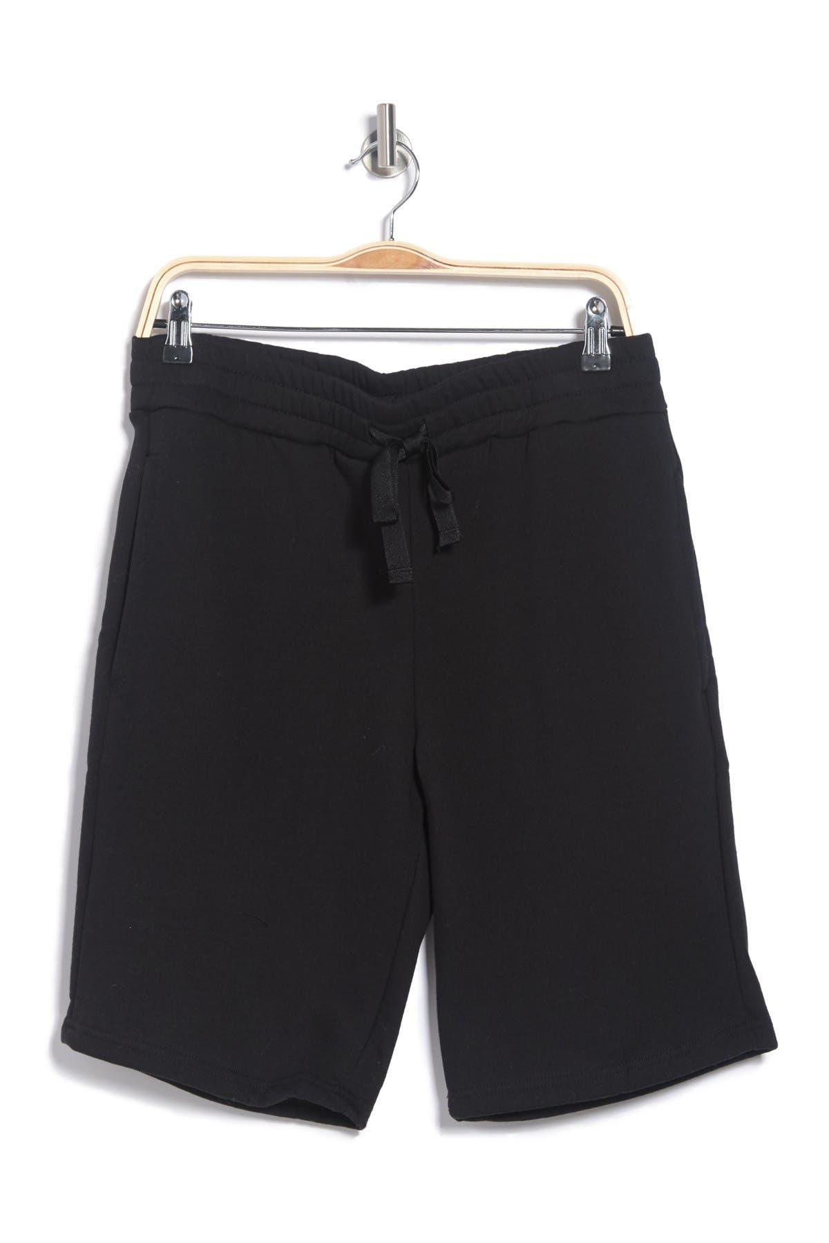 Loungehero Black & Gray Pocket Shorts Set