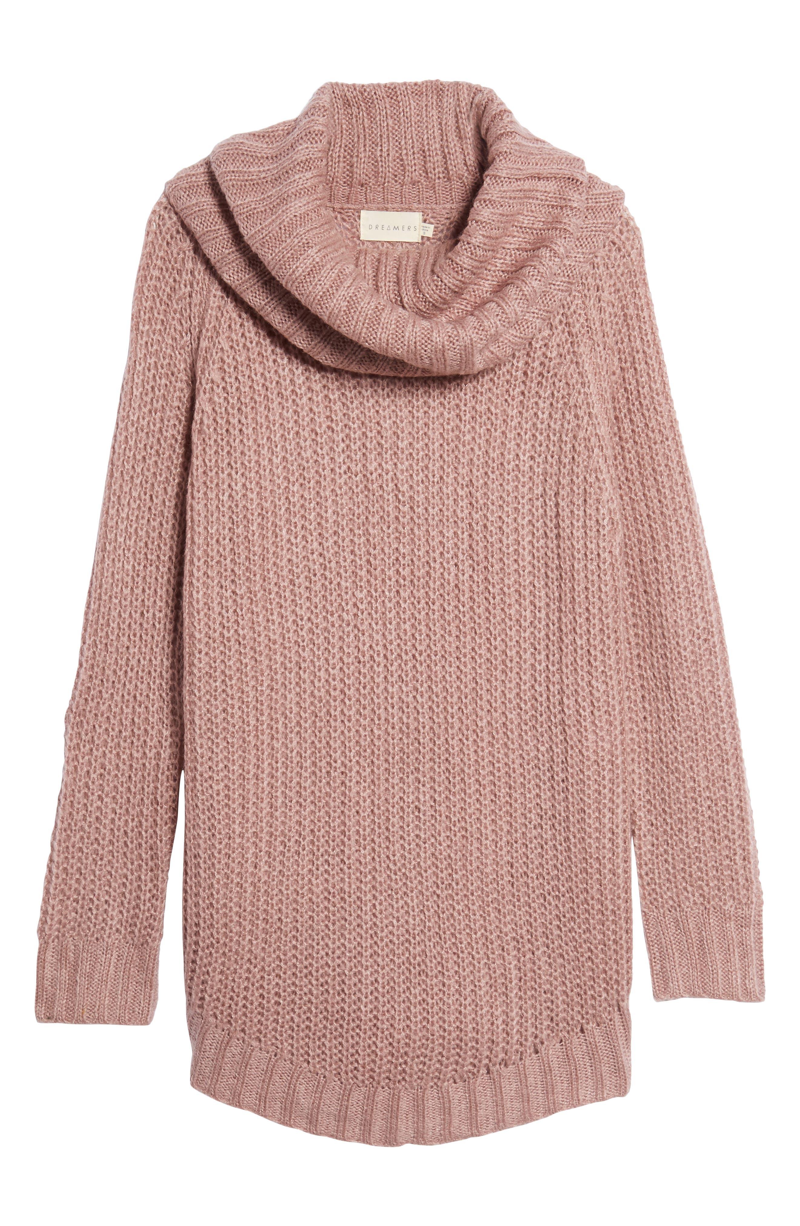 ,                             Cowl Neck Sweater,                             Alternate thumbnail 6, color,                             680