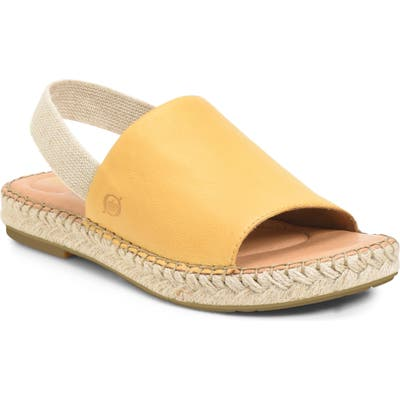 B?rn San Isabel Slingback Sandal, Yellow