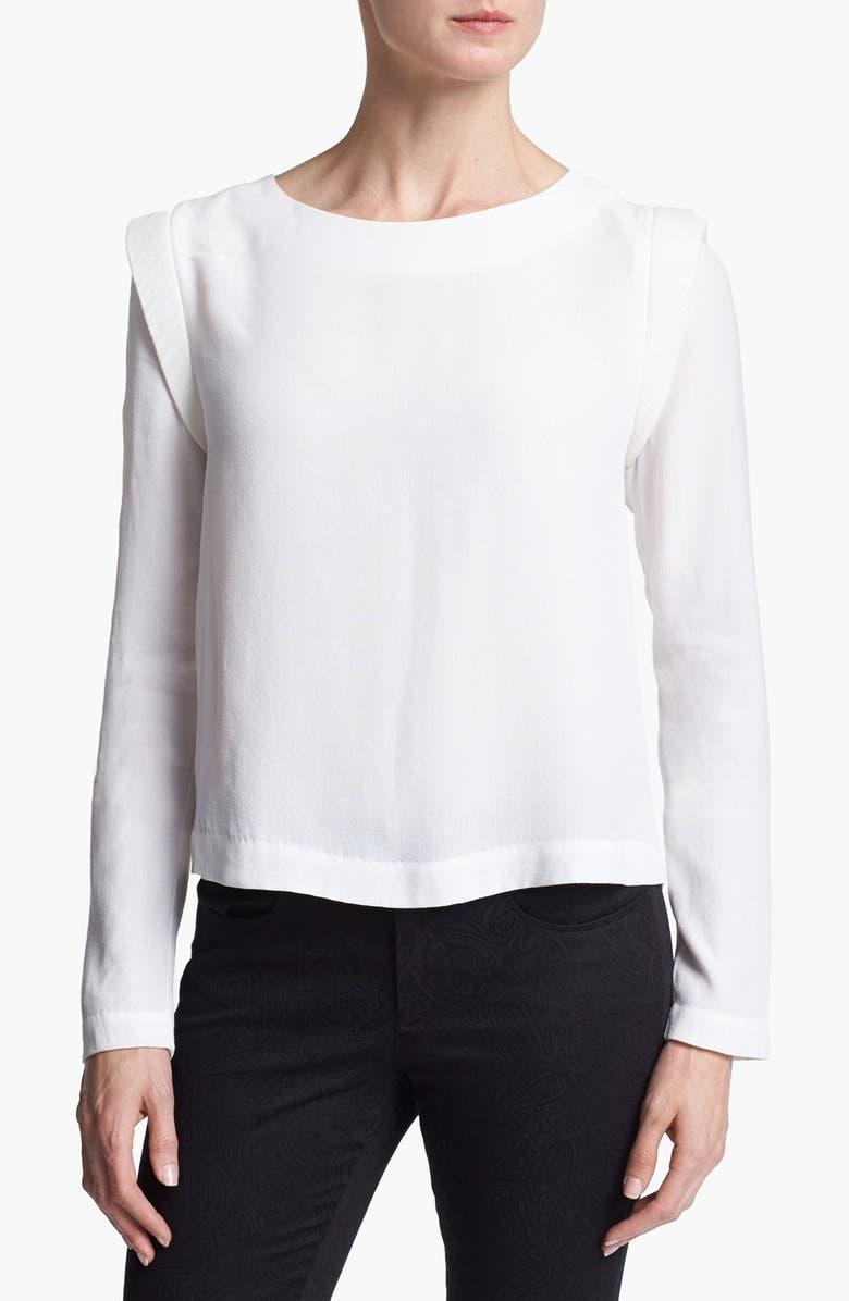 ASTR THE LABEL ASTR Bold Shoulder Blouse, Main, color, 900
