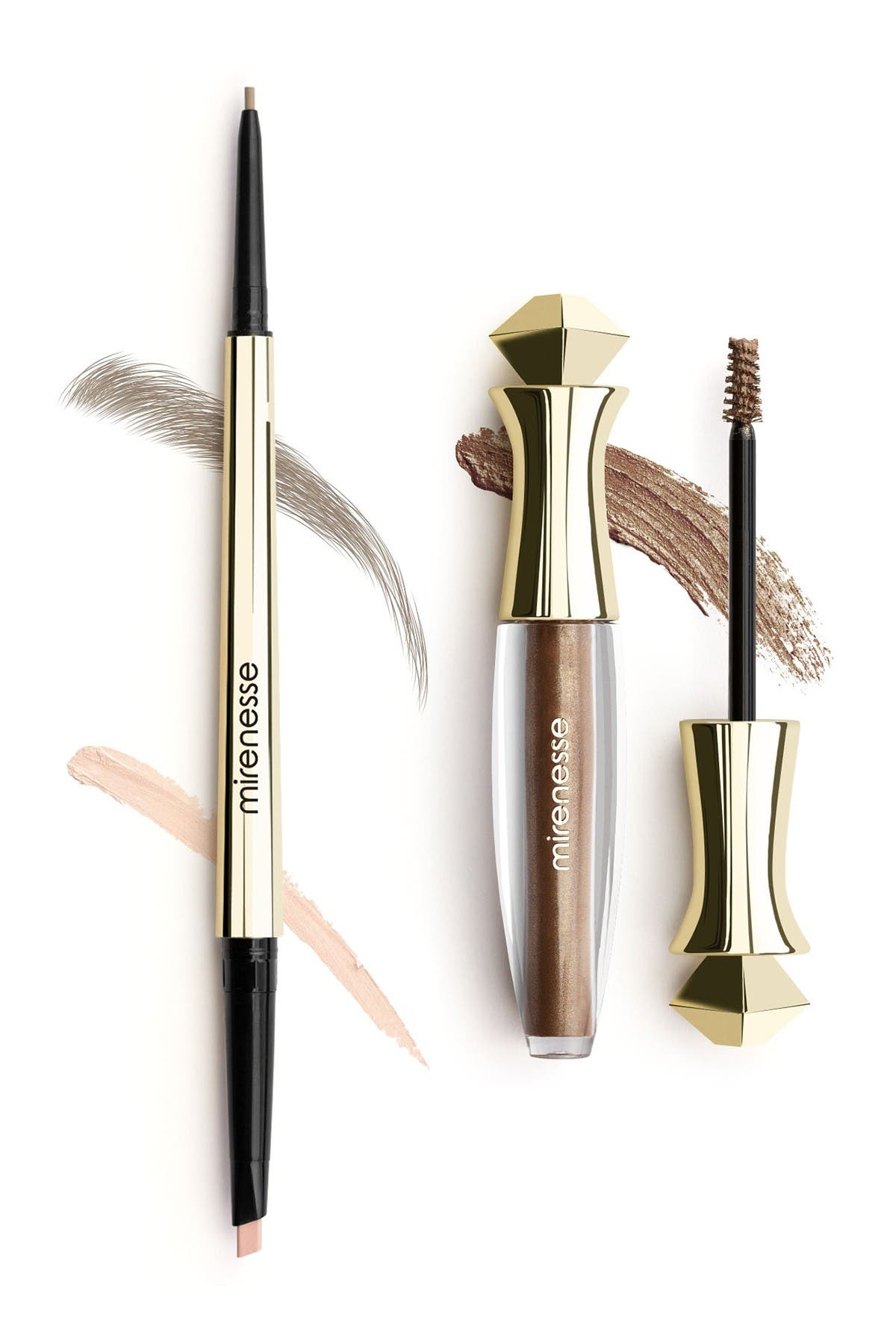 Image of Mirenesse All Day Micro Brow Pencil + Shaping Mascara - 1.Taupe