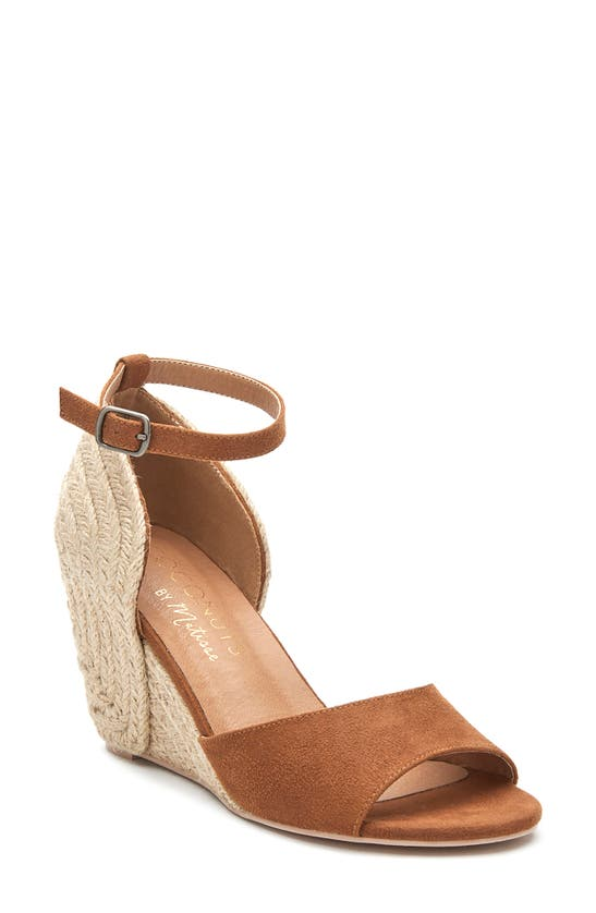 Coconuts By Matisse HORIZON ANKLE STRAP ESPADRILLE WEDGE SANDAL