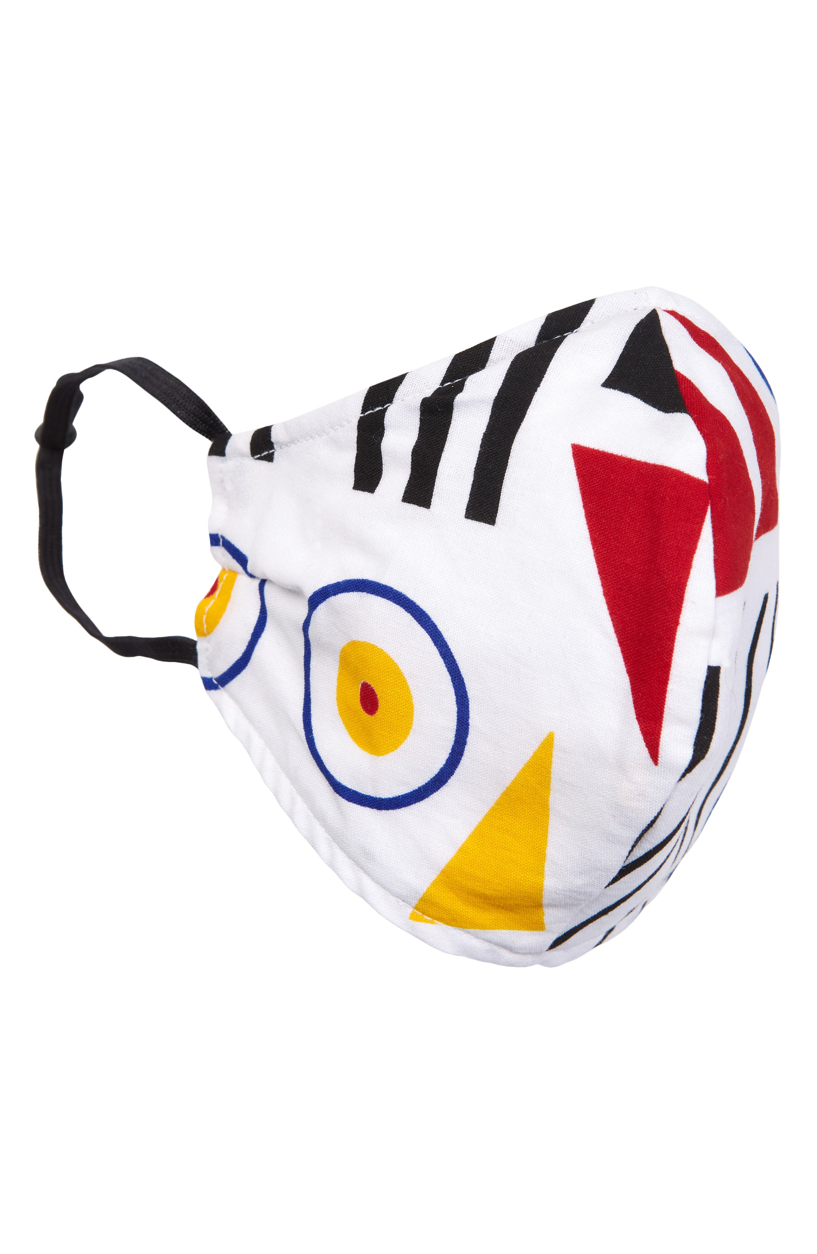 Adult Print Contoured Face Mask