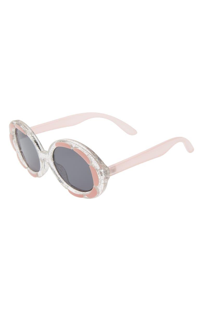 GLAMBABY Maddy 47mm Round Sunglasses, Main, color, LIGHT PINK