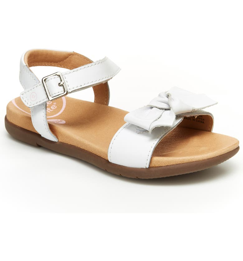 STRIDE RITE SRtech<sup>™</sup> Savannah Sandal, Main, color, WHITE