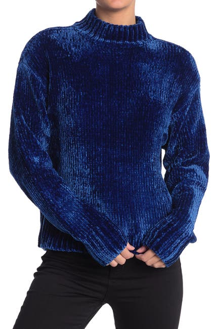Image of Sanctuary Chenille Mock Neck Sweater