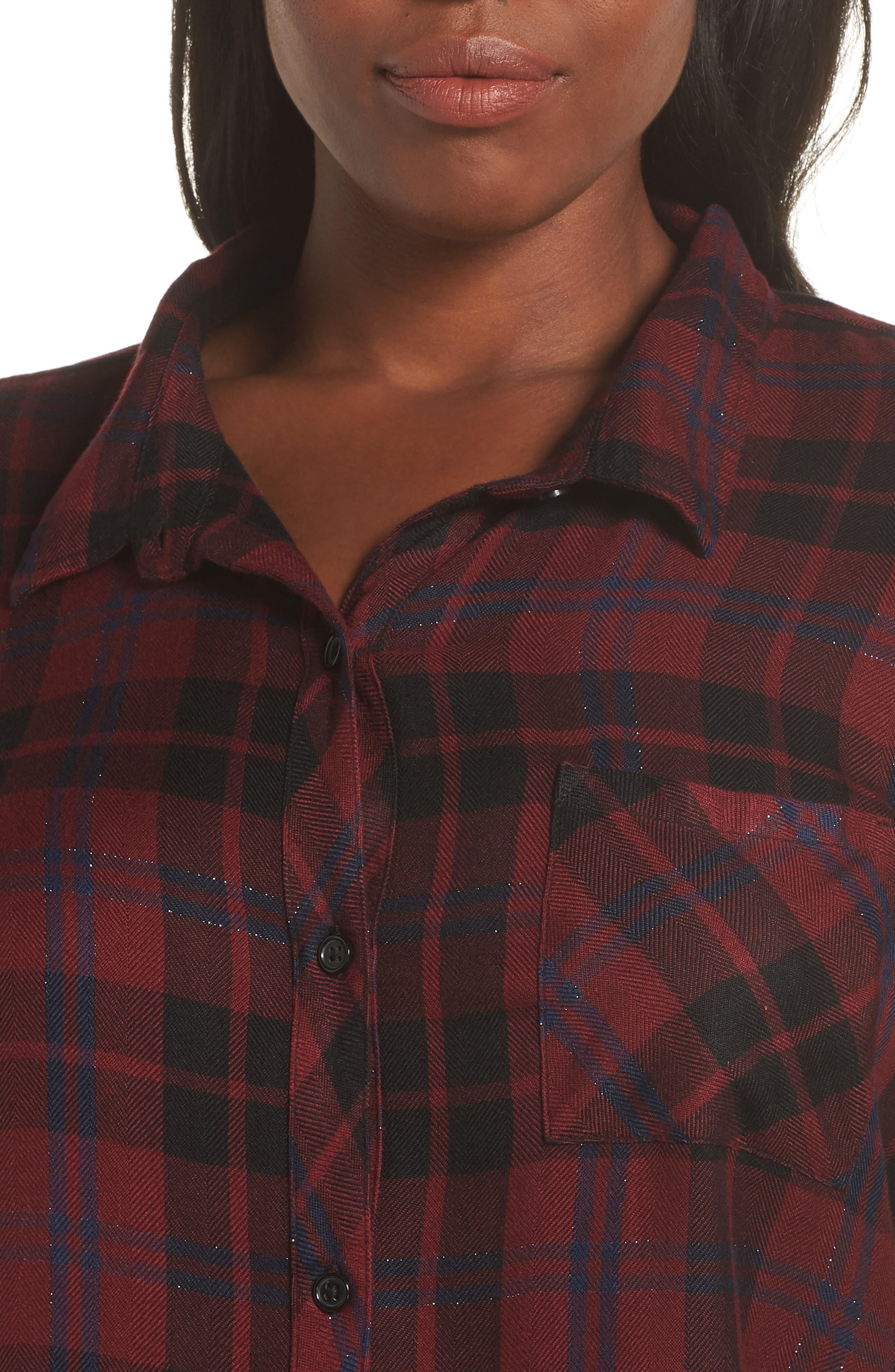 ,                             Hunter Plaid Shirt,                             Alternate thumbnail 441, color,                             932