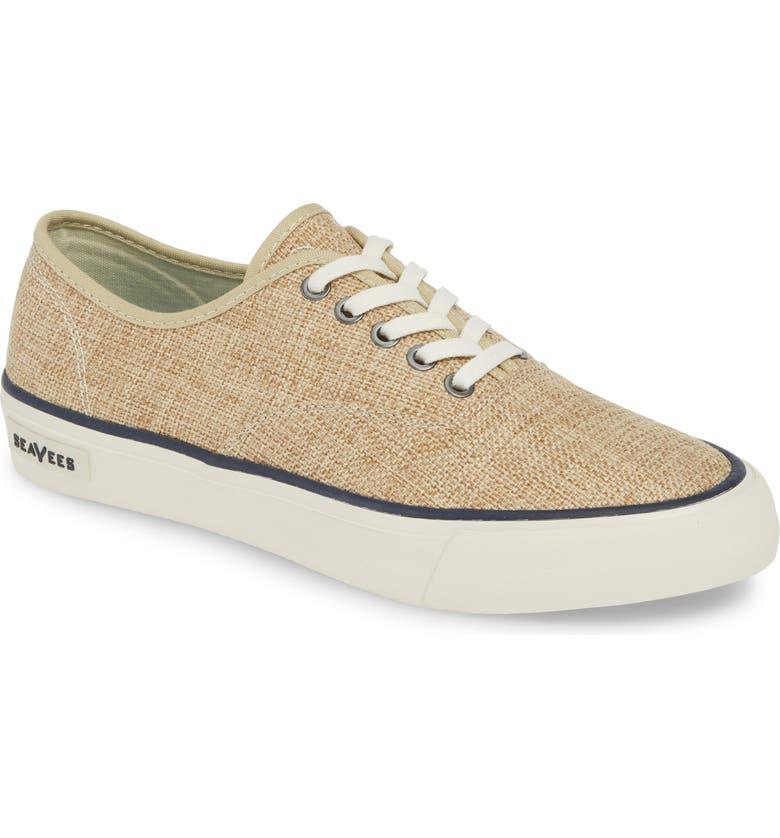 SEAVEES Legend Raffia Sneaker, Main, color, NATURAL WOVEN JUTE