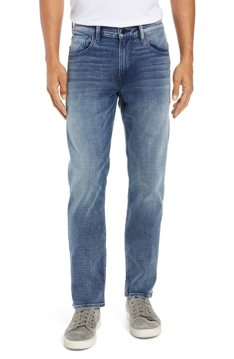HUDSON JEANS Byron Slim Straight Leg Jeans, Main, color, STEARNS