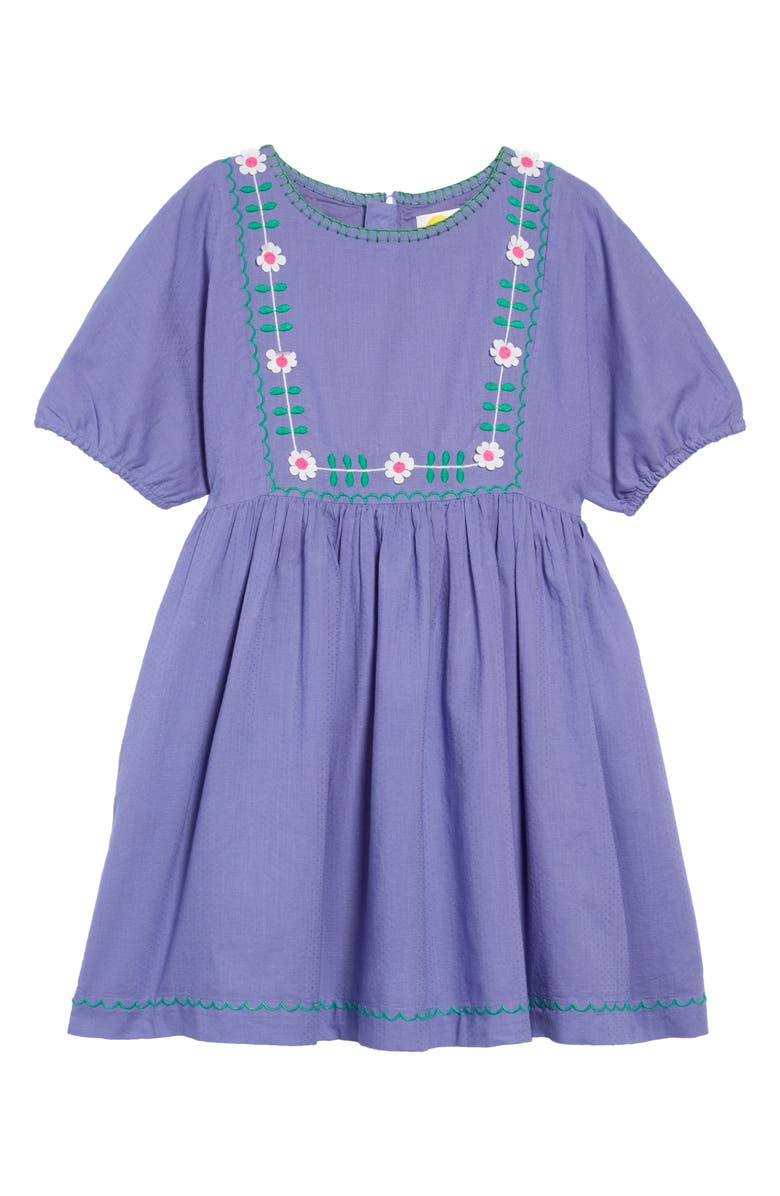 MINI BODEN Boho Embroidered Dress, Main, color, 514
