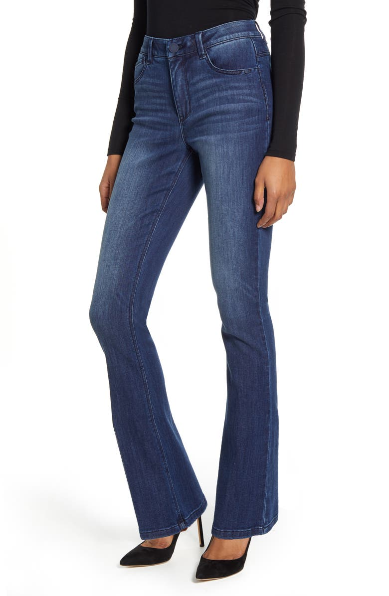 WIT & WISDOM Ab-Solution Itty Bitty High Waist Bootcut Jeans, Main, color, 420