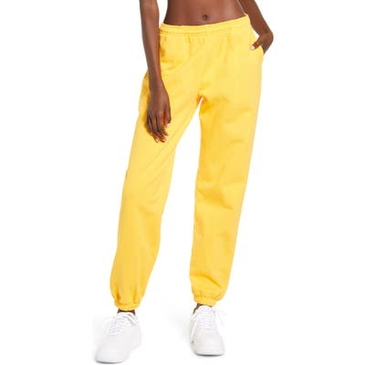 Melody Ehsani Me. Rose Sweatpants, Yellow
