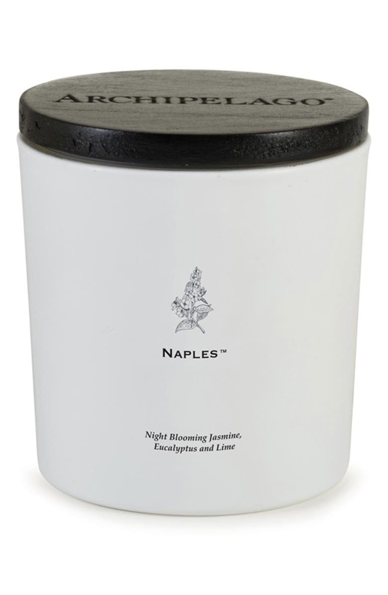 ARCHIPELAGO BOTANICALS Naples Luxe Candle, Main, color, NAPLES