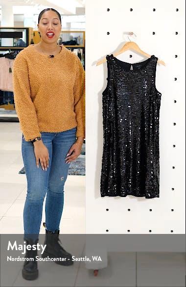 Sleeveless Sequin A-Line Dress, sales video thumbnail