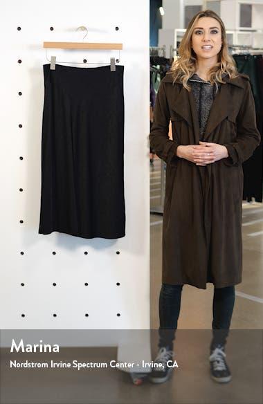 Letti Satin Jacquard Midi Skirt, sales video thumbnail