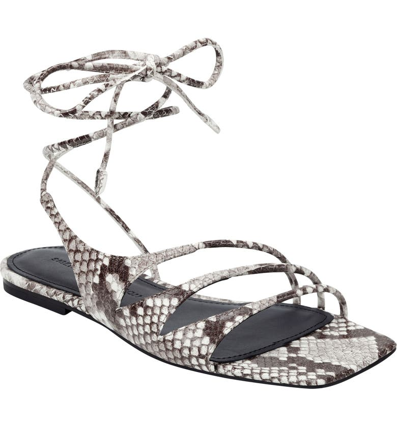 SIGERSON MORRISON Faune Wrap Sandal, Main, color, ROCCIA