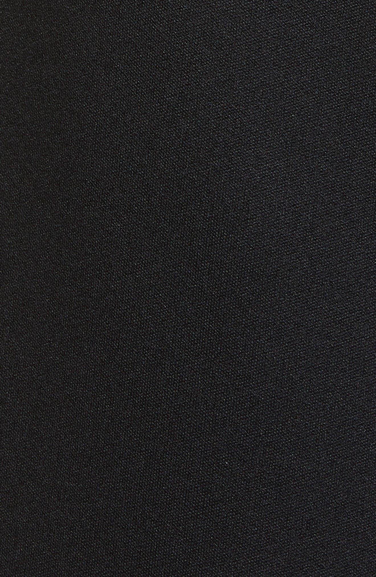 ,                             Stripe Shorts,                             Alternate thumbnail 5, color,                             BLACK