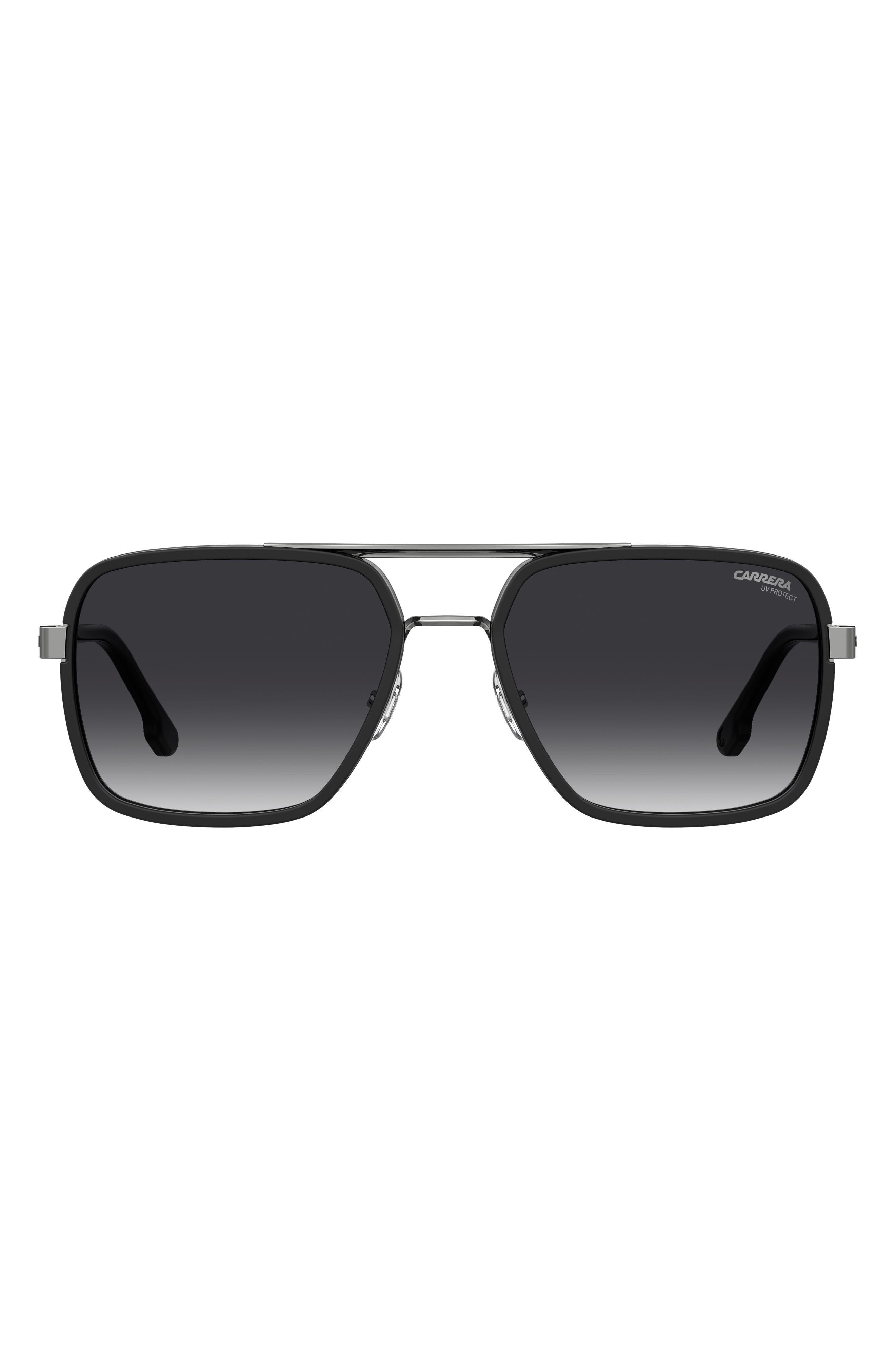 58mm Gradient Aviator Sunglasses