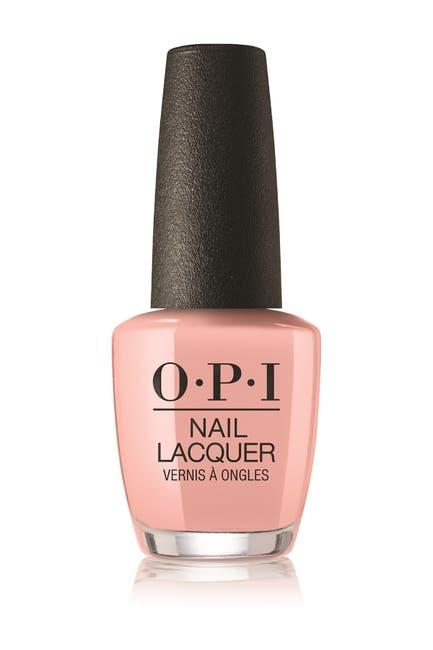 Image of OPI Nail Lacquer -  Machu Peach-u